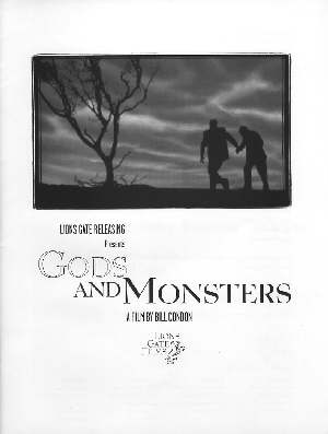 Gods And Monsters Press Book 1998