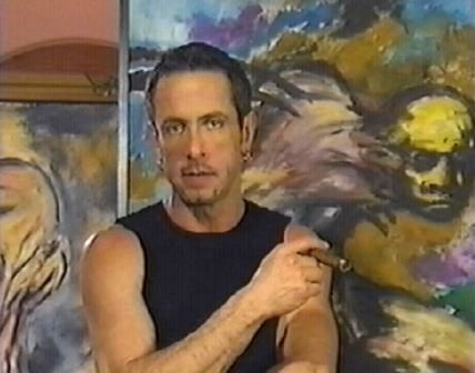 Clive Barker - In the studio, 1999