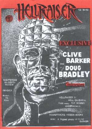 Hellraiser, No 1, Winter 1990