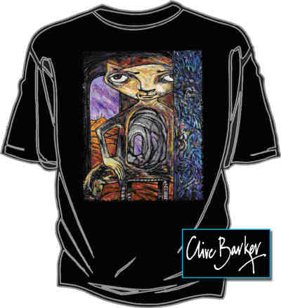 Graphic Gear - Clive Barker - Holecat T-shirt