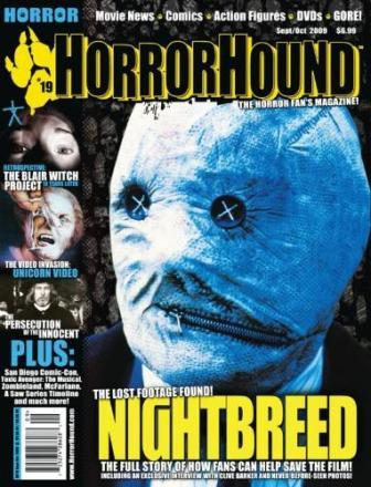 HorrorHound Magazine, #19, September / October 2009