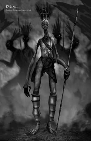 Undying Concept Art by Brian Horton - Drinen