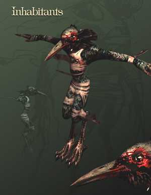 Undying Concept Art by Brian Horton - Inhabitants