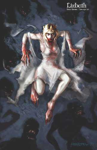 Undying Concept Art by Brian Horton - Lizbeth