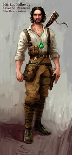 Undying Concept Art by Brian Horton - Patrick Galloway