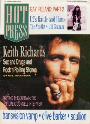 Hot Press, Vol 12 No 20, 20 October 1998