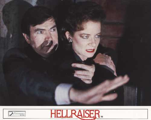 Hellraiser UK Theatrical Lobby Card, 1987