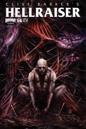 Clive Barker - Hellraiser Issue 14 - Cover B