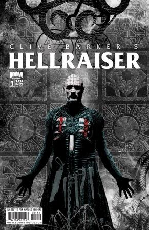 Clive Barker - Hellraiser Issue 1 (2nd print) - Tim Bradstreet cover art