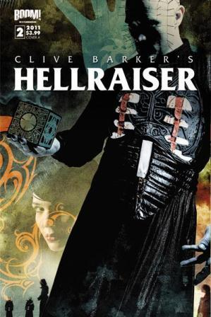 Clive Barker - Hellraiser Issue 3 - cover A