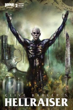 Clive Barker - Hellraiser Issue 3 - cover B