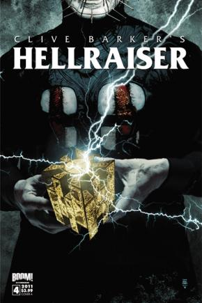 Clive Barker - Hellraiser Issue 4 - cover A