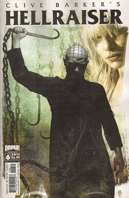Clive Barker - Hellraiser Issue 6 - cover A