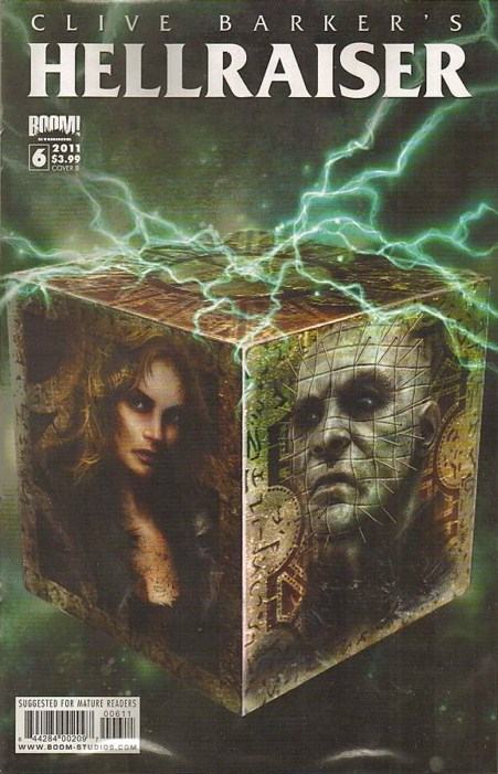Clive Barker - Hellraiser Issue 6 - cover B
