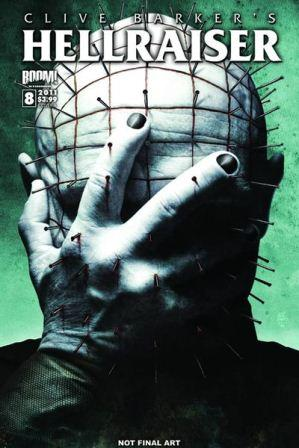 Clive Barker - Hellraiser Issue 8 - Cover A (Bradstreet)