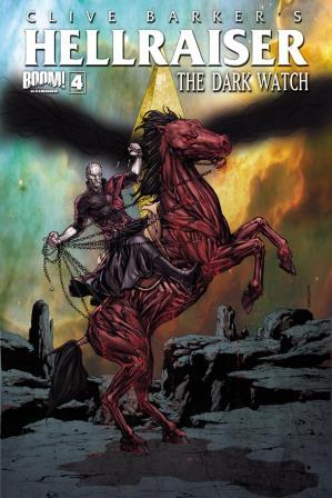 Clive Barker - Hellraiser The Dark Watch Issue 4 - cover A