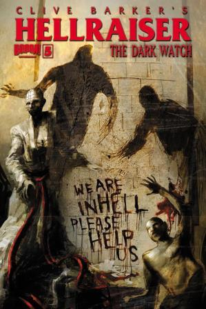 Clive Barker - Hellraiser The Dark Watch Issue 5 - cover A (art not finalised)