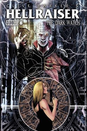 Clive Barker - Hellraiser The Dark Watch Issue 6 - cover A (art not finalised)