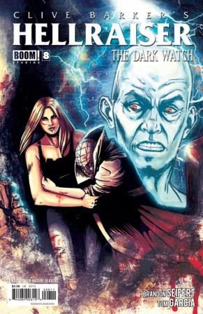 Clive Barker - Hellraiser The Dark Watch Issue 8 - cover A