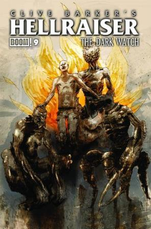 Clive Barker - Hellraiser The Dark Watch Issue 9 - cover A