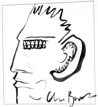 Clive Barker - Illustrator - Number 108
