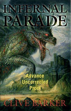 Infernal Parade uncorrected proof