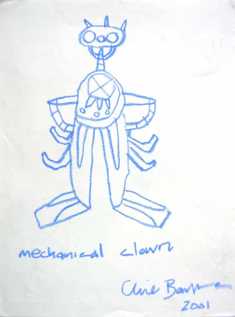 Clive Barker - IR - Mechanical Clown
