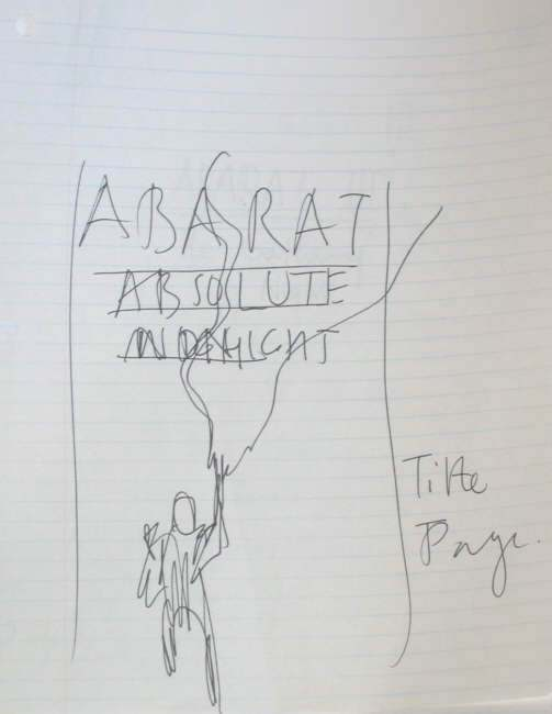 Clive Barker - Abarat III: Absolute Midnight (title page)