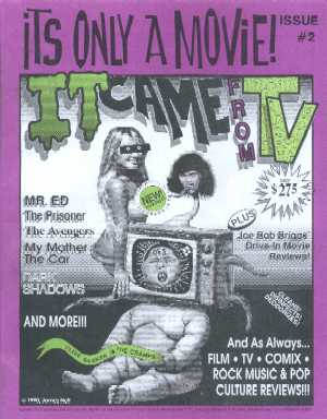 It's Only A Movie, Vol 1 No 2, June/July 1990