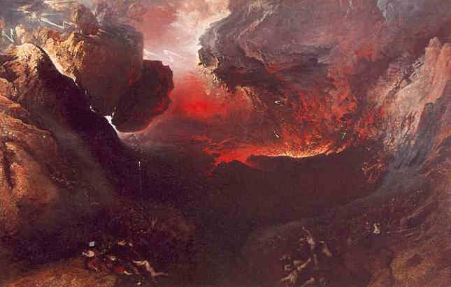 John Martin - The Great Day Of His Wrath c.1853
