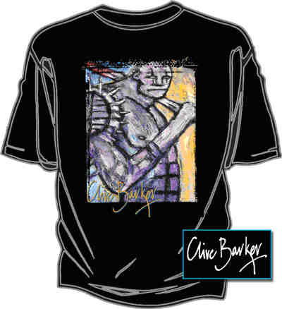 Graphic Gear - Clive Barker - Knight and Day T-shirt
