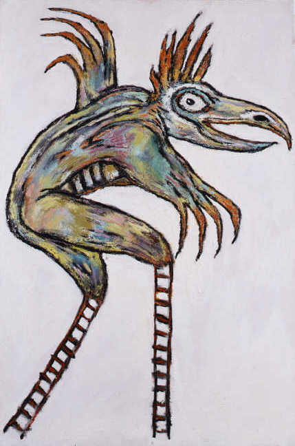 Clive Barker - The Creature With Ladder Legs