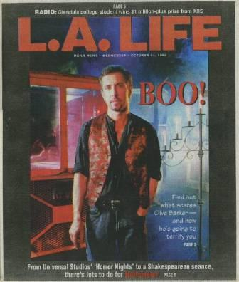 Daily News, Los Angeles, L.A. Life section - 14 October 1998