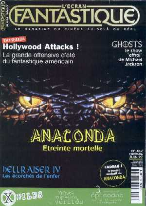 L'Ecran Fantastique, No.162, June 1997
