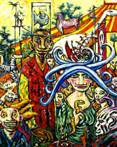 Clive Barker - In Babilonium with Fish Hat