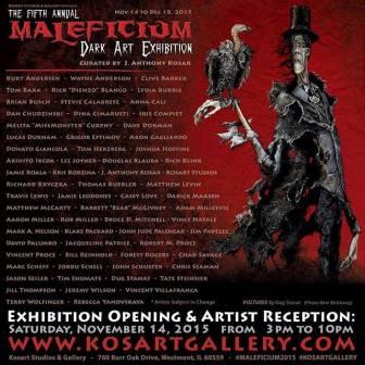 Clive Barker: at Maleficium exhibition