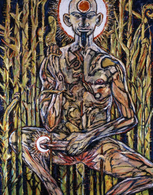 ... Official Clive Barker Website - Revelations - Art Gallery - The Martyr: www.clivebarker.info/martyr.html