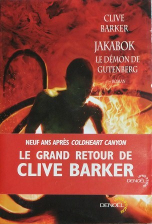 Clive Barker - Mister B. Gone - France, 2010.