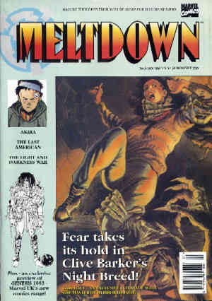 Meltdown, No. 6, January 1992