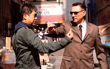 Midnight Meat Train - On Set