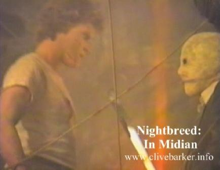Exclusive behind the scenes footage on the set of Nightbreed