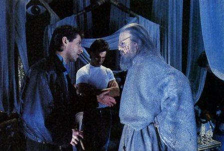 Clive Barker - Nightbreed - Clive directs Doug Bradley on set