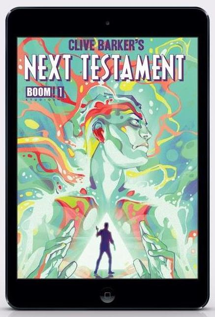 Clive Barker - Next Testament TPB1, cover art by Goni Montes