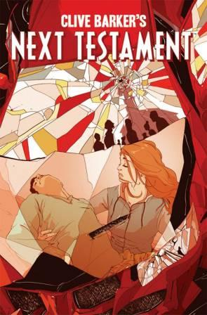 Clive Barker - Next Testament Issue 7, A cover art by Goni Montes