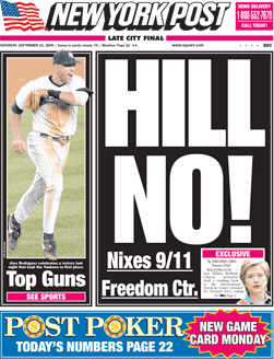 New York Post, 24 September 2005