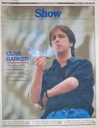 The Orange County Register: Show, 18 October 1987
