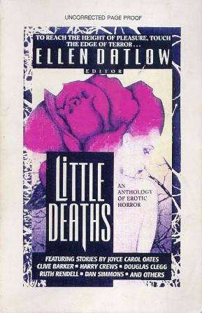Little Deaths - 1995 paperback proof