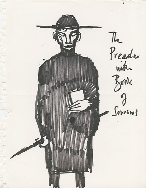 Clive Barker - The Preacher with Book of Sorrows