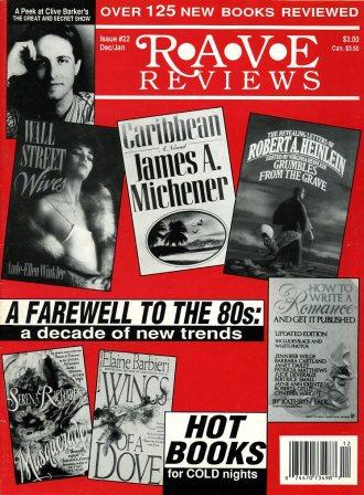 Rave Reviews, No 22, December 1989 / January 1990