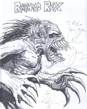 Rawhead Rex - original artwork
